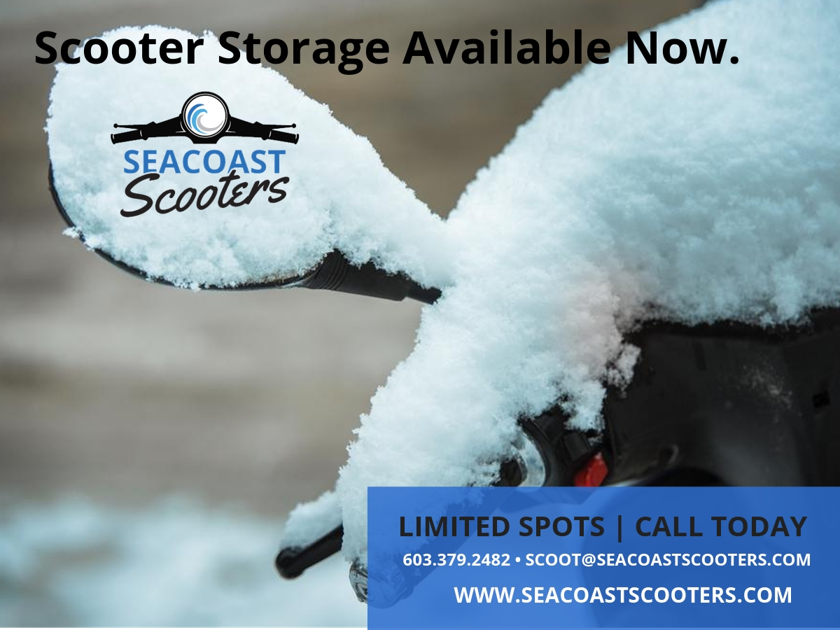 Winter Scooter Storage at Seacoast Scooters